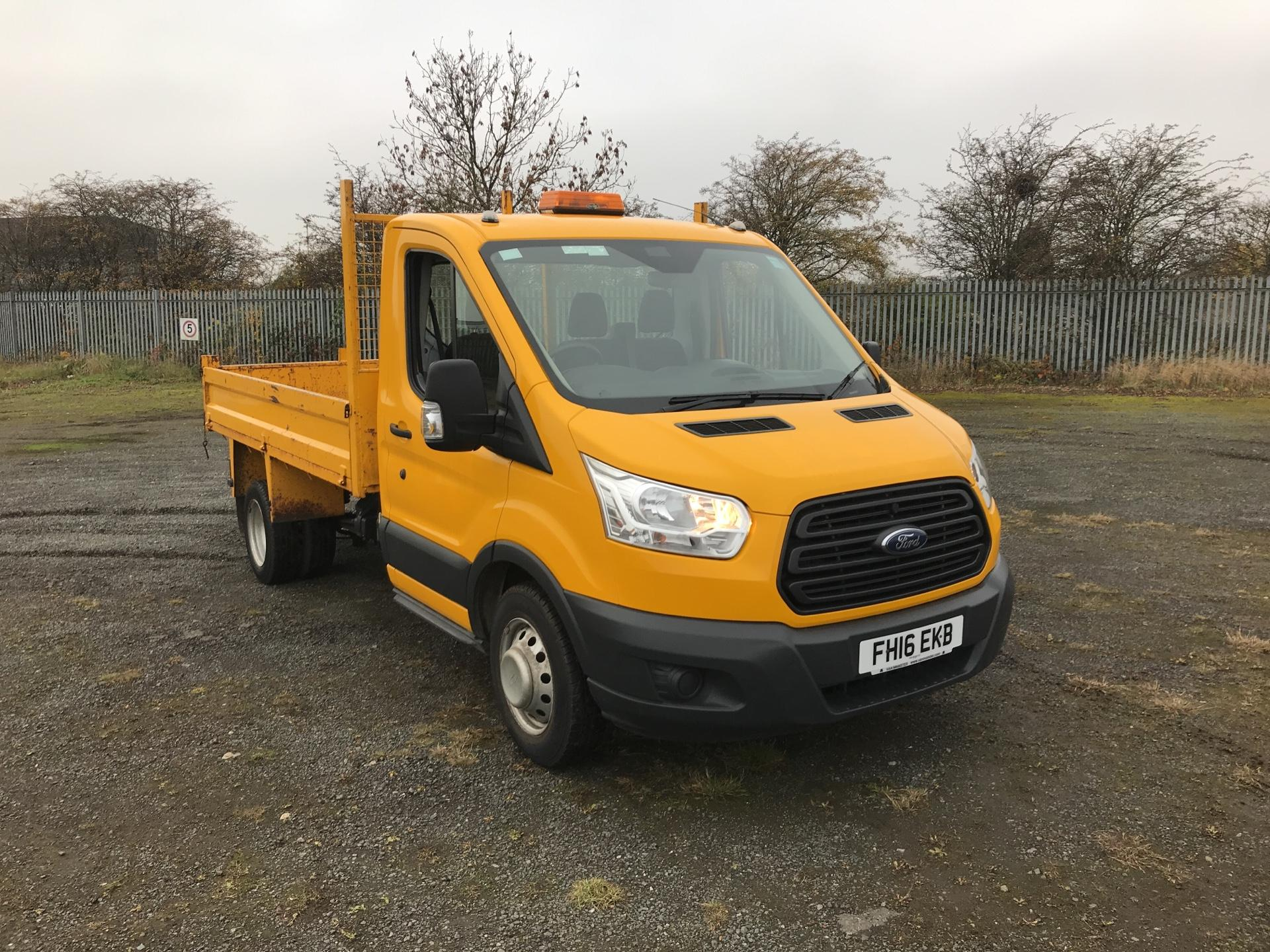 2016 Ford Transit  350 L2 SINGLE CAB TIPPER 100PS EURO 5 *VALUE RANGE VEHICLE - CONDITION REFLECTED IN PRICE* (FH16EKB)