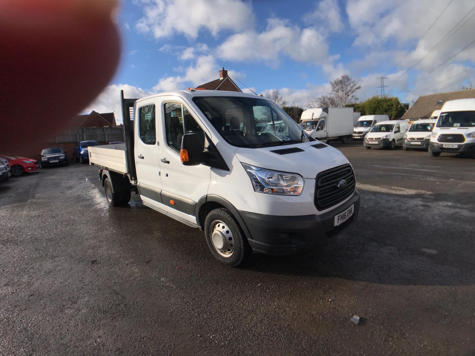 2016 Ford Transit 350 L3 DOUBLE CAB TIPPER 125PS EURO 5 *VALUE RANGE VEHICLE CONDITION REFLECTED IN PRICE* (FH16EKK)