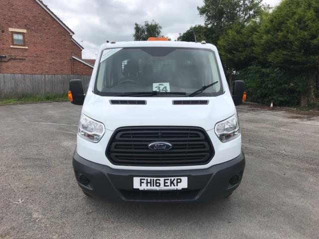 2016 Ford Transit 2.2 Tdci 125Ps Double Cab Tipper  (FH16EKP) Image 2