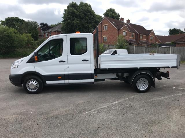 2016 Ford Transit 2.2 Tdci 125Ps Double Cab Tipper  (FH16EKP) Image 4
