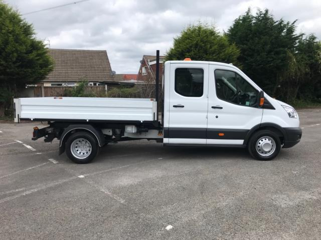 2016 Ford Transit 2.2 Tdci 125Ps Double Cab Tipper  (FH16EKP) Image 8