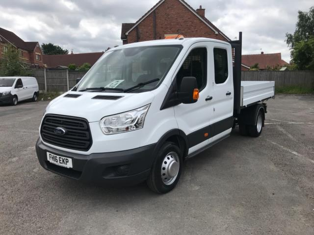 2016 Ford Transit 2.2 Tdci 125Ps Double Cab Tipper  (FH16EKP) Image 3