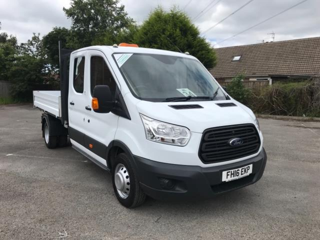 2016 Ford Transit 2.2 Tdci 125Ps Double Cab Tipper  (FH16EKP)