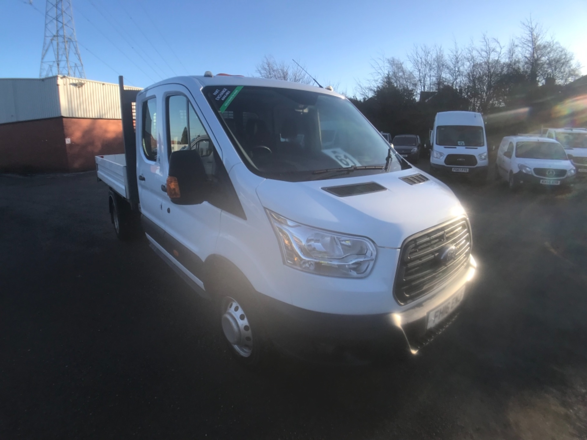 2016 Ford Transit 350 L3 DOUBLE CAB TIPPER 125PS EURO 5 (FH16ENJ)