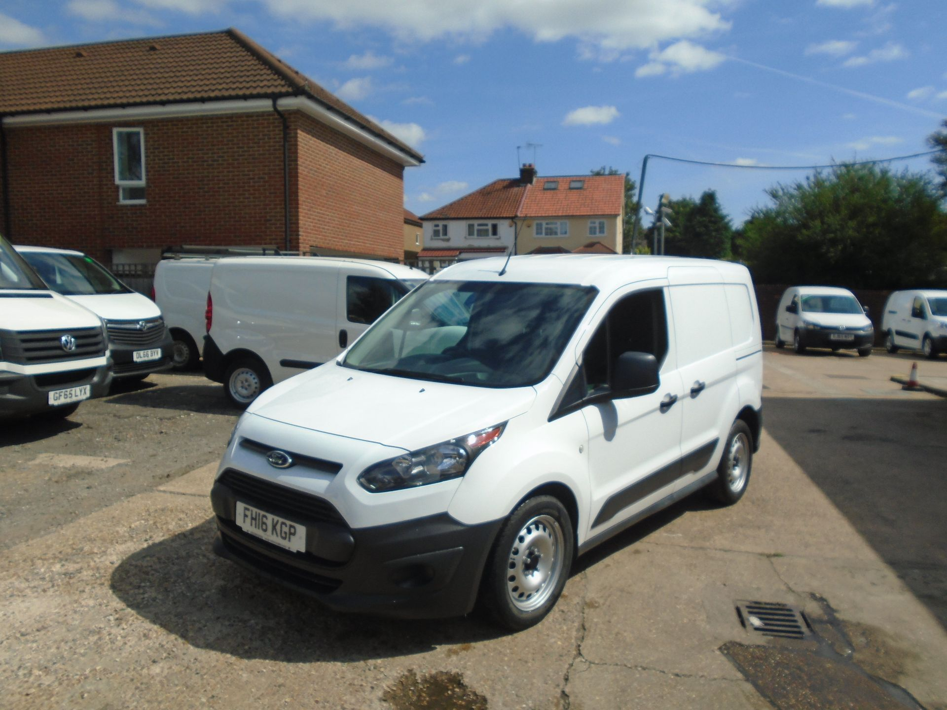 2016 Ford Transit Connect 1.5 Tdci 75Ps Van(EURO 5) (FH16KGP) Image 3