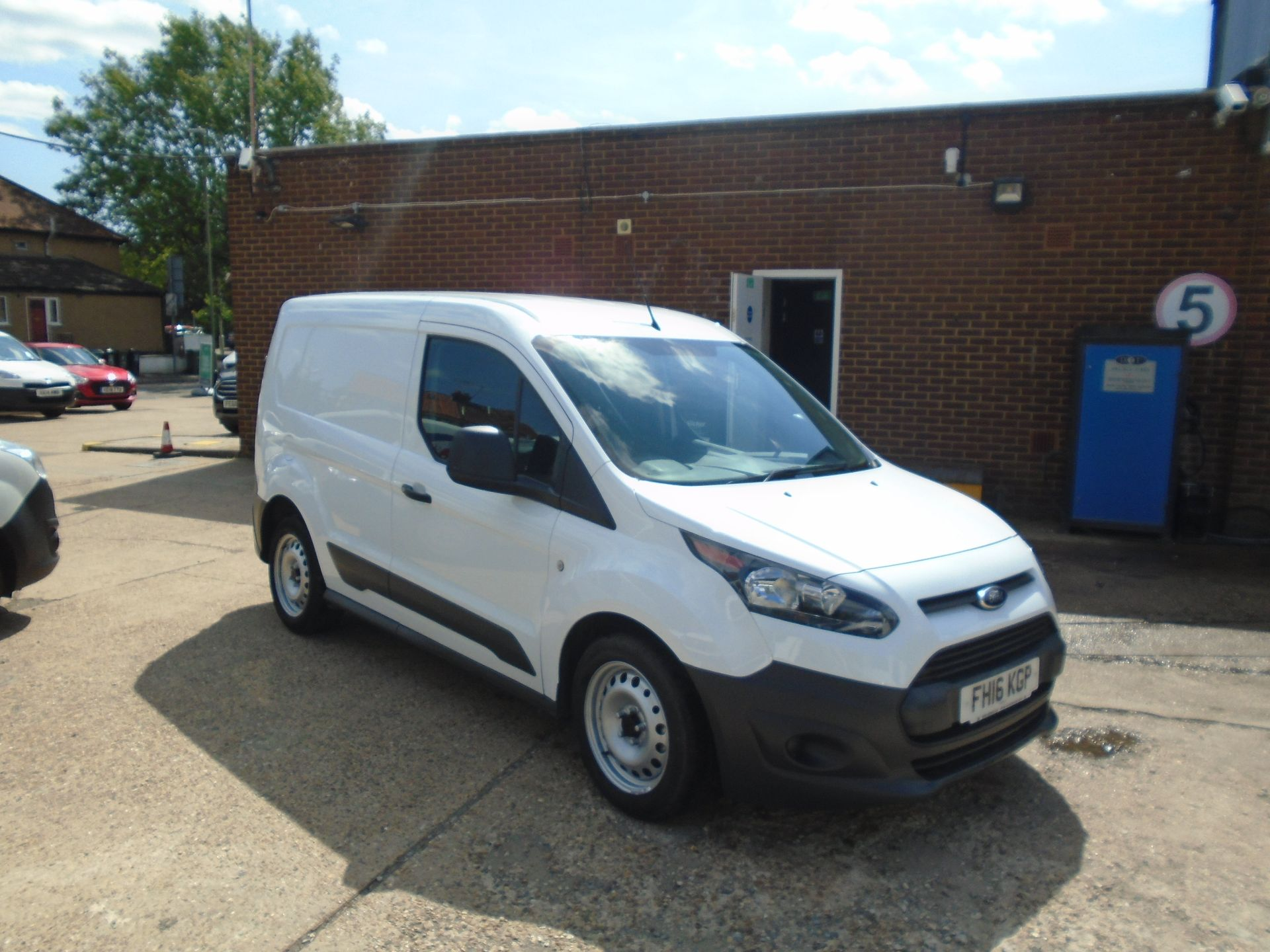 2016 Ford Transit Connect 1.5 Tdci 75Ps Van(EURO 5) (FH16KGP)