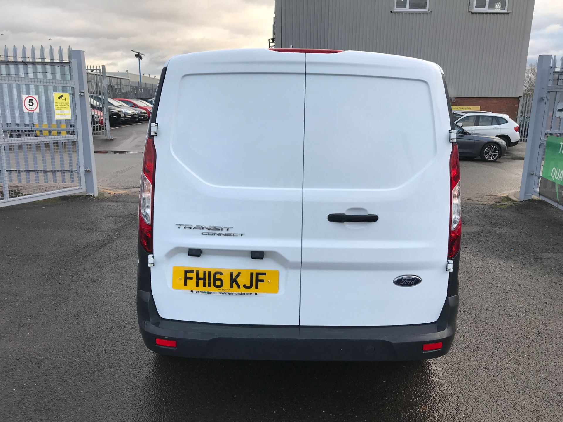 2016 Ford Transit Connect T220 L1 H1 1.5TDCI 75PS EURO 6 (FH16KJF) Image 9