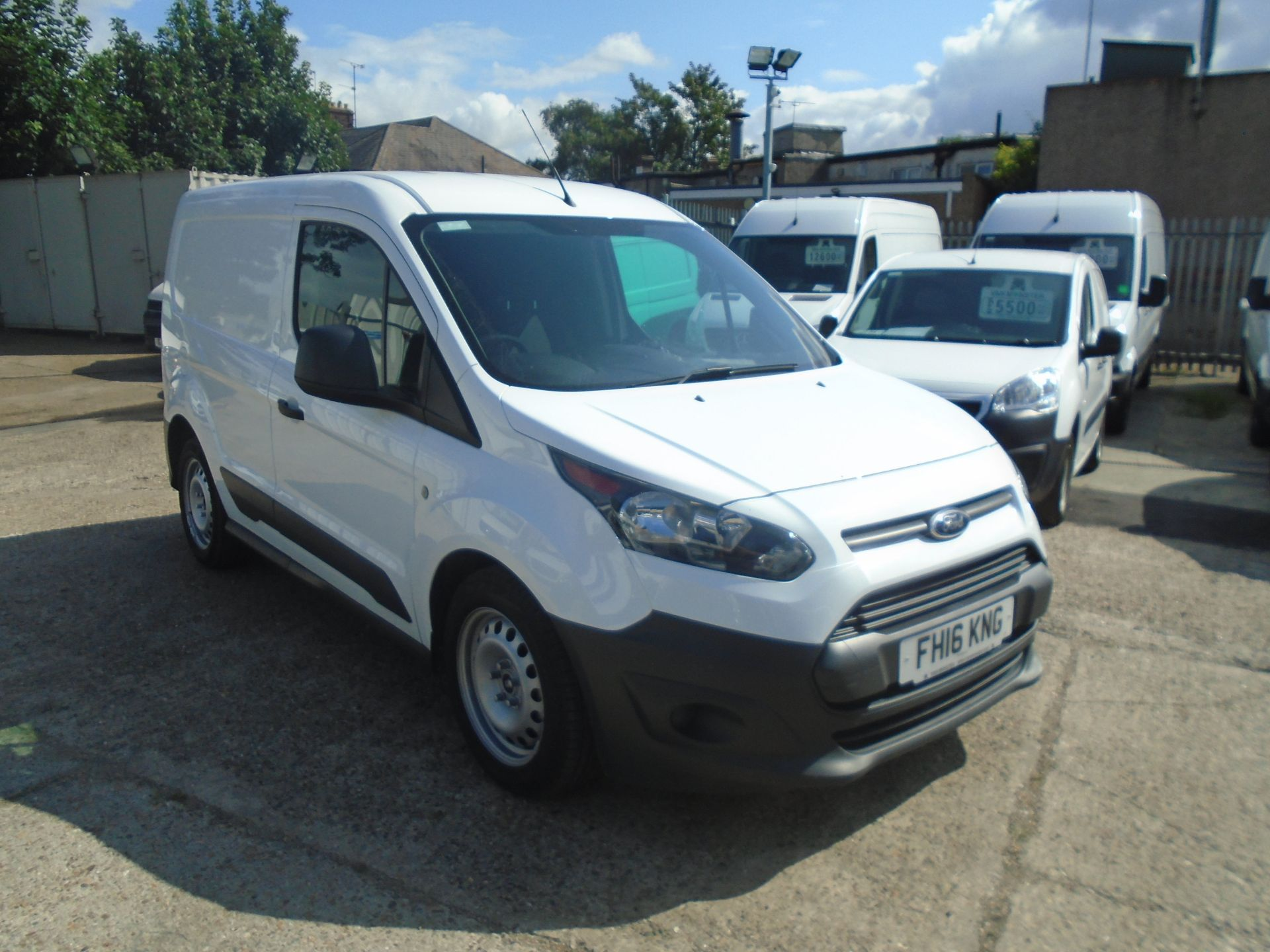 2016 Ford Transit Connect 1.5 Tdci 100Ps Econetic Van -LIMITED TO 70MPH (FH16KNG)