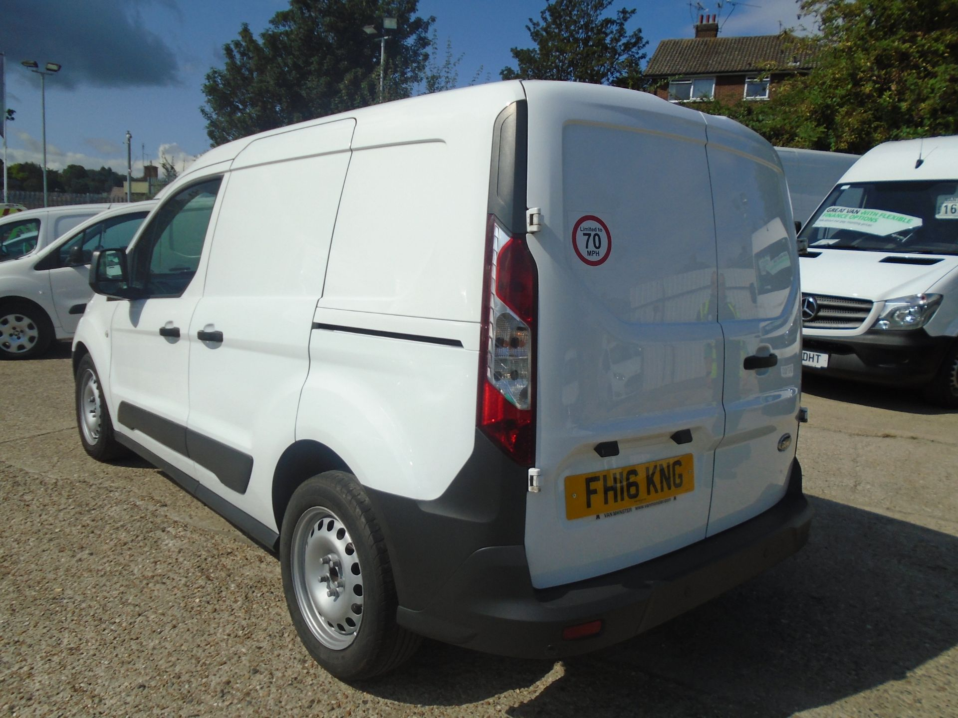 2016 Ford Transit Connect 1.5 Tdci 100Ps Econetic Van -LIMITED TO 70MPH (FH16KNG) Image 7