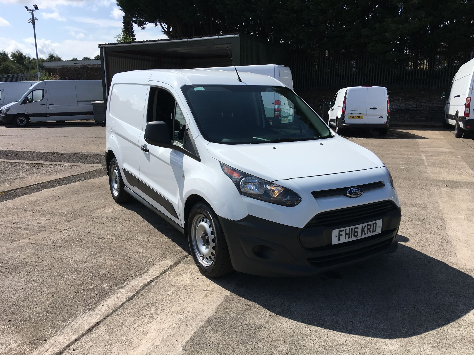 2016 Ford Transit Connect 220 L1 DIESEL 1.5 TDCI 75PS VAN (FH16KRD)