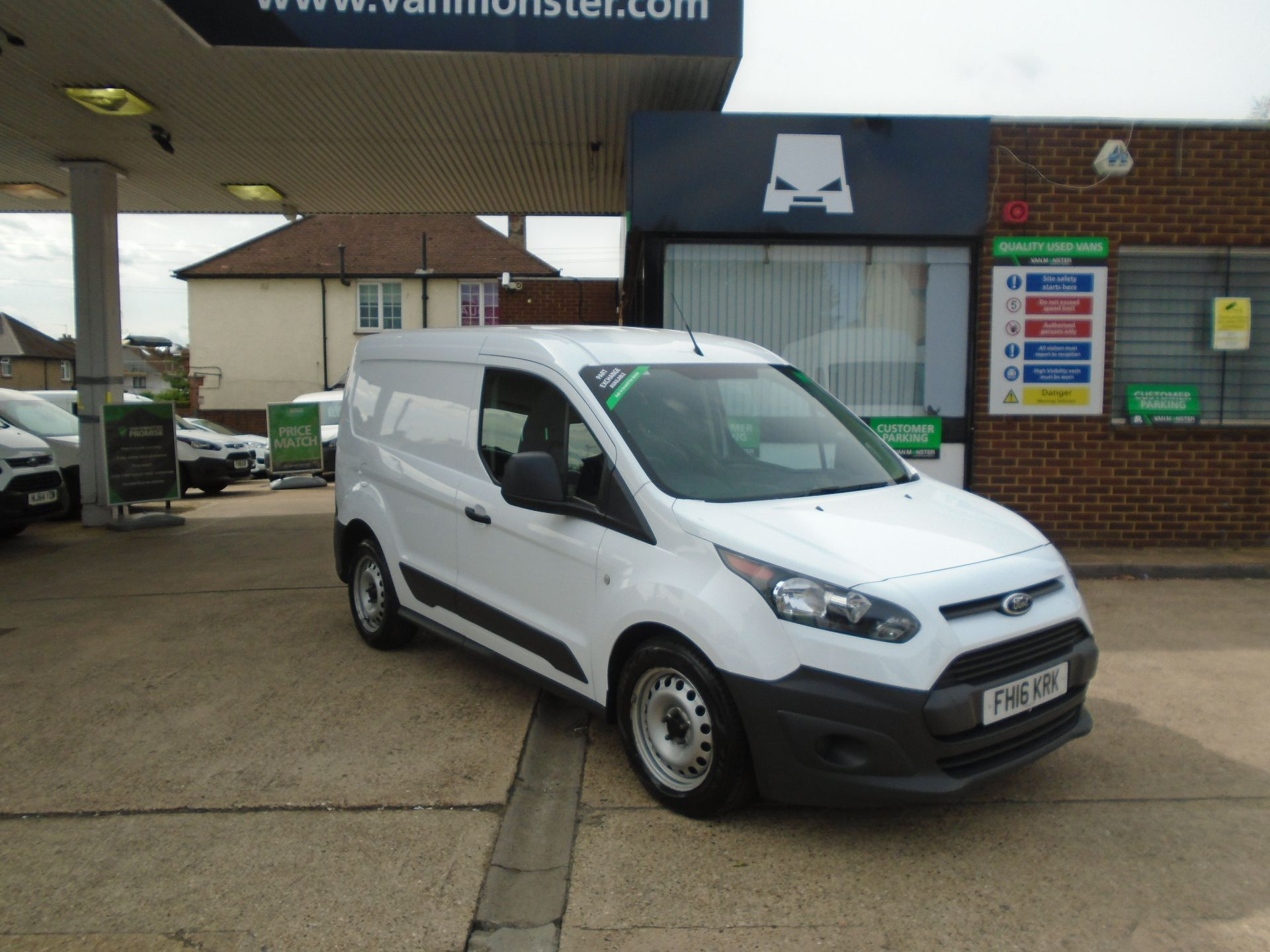2016 Ford Transit Connect 1.5 Tdci 75Ps Van(EURO5) (FH16KRK)