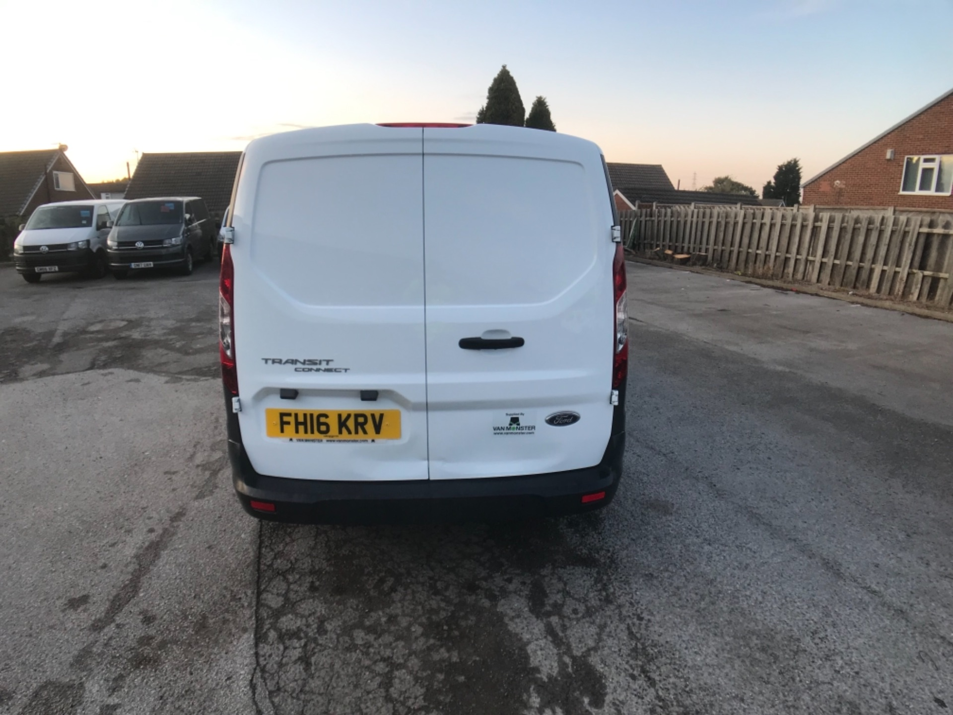 2016 Ford Transit Connect 220 1.5 Tdci 75Ps Van Euro 6 (FH16KRV) Image 6
