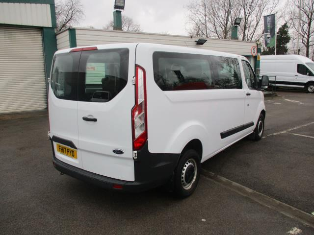 2017 Ford Transit Custom  310  L2  LOW ROOF  KOMBI 130PS EURO 6 (FH17PYD) Image 8
