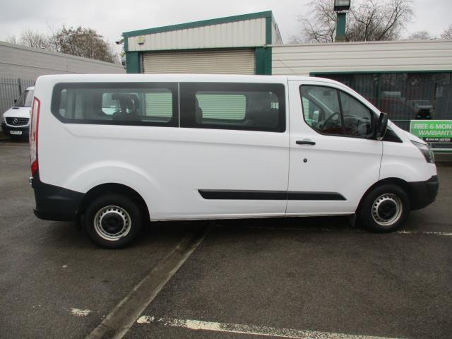 2017 Ford Transit Custom  310  L2  LOW ROOF  KOMBI 130PS EURO 6 (FH17PYD) Image 9