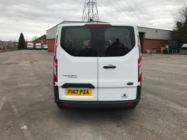 2017 Ford Transit Custom 2.0 Tdci 130Ps Low Roof Kombi Van 9 seater Euro 6 NO VAT (FH17PZA) Image 6