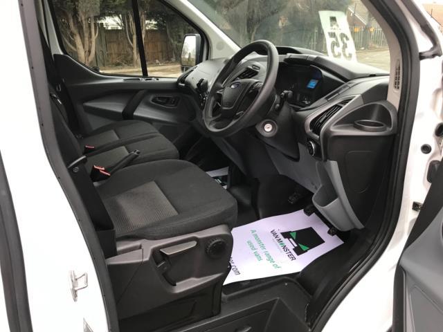 2017 Ford Transit Custom 2.0 Tdci 130Ps Low Roof Kombi Van 9 seater Euro 6 NO VAT (FH17PZA) Image 10