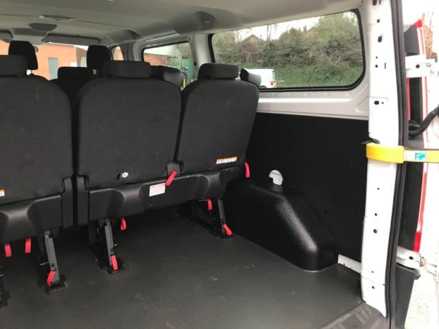 2017 Ford Transit Custom 2.0 Tdci 130Ps Low Roof Kombi Van 9 seater Euro 6 NO VAT (FH17PZA) Image 36