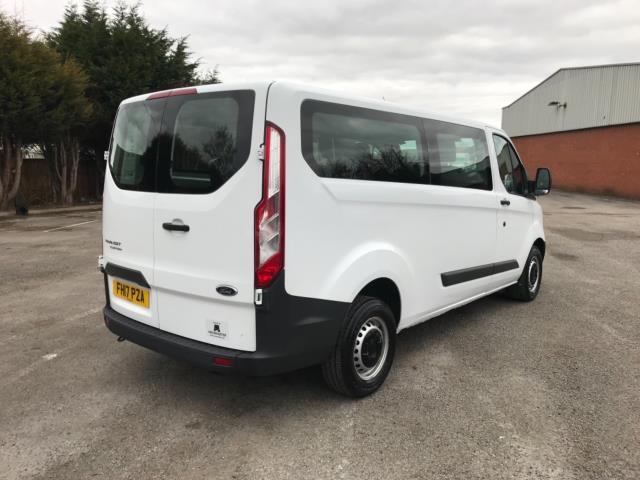 2017 Ford Transit Custom 2.0 Tdci 130Ps Low Roof Kombi Van 9 seater Euro 6 NO VAT (FH17PZA) Image 7
