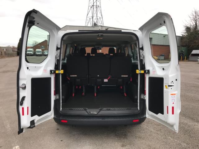2017 Ford Transit Custom 2.0 Tdci 130Ps Low Roof Kombi Van 9 seater Euro 6 NO VAT (FH17PZA) Image 33