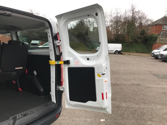 2017 Ford Transit Custom 2.0 Tdci 130Ps Low Roof Kombi Van 9 seater Euro 6 NO VAT (FH17PZA) Image 38