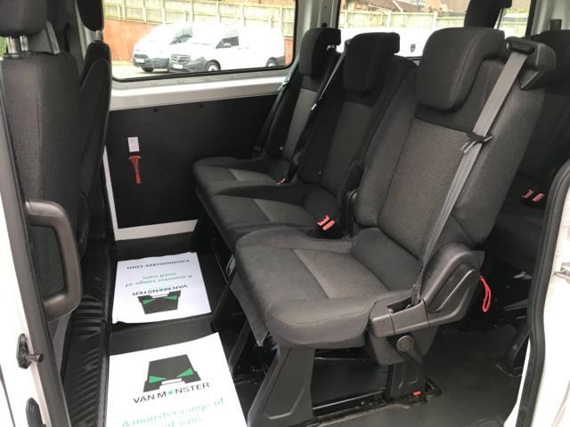 2017 Ford Transit Custom 2.0 Tdci 130Ps Low Roof Kombi Van 9 seater Euro 6 NO VAT (FH17PZA) Image 30