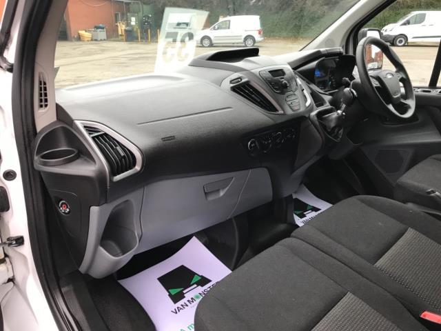 2017 Ford Transit Custom 2.0 Tdci 130Ps Low Roof Kombi Van 9 seater Euro 6 NO VAT (FH17PZA) Image 28