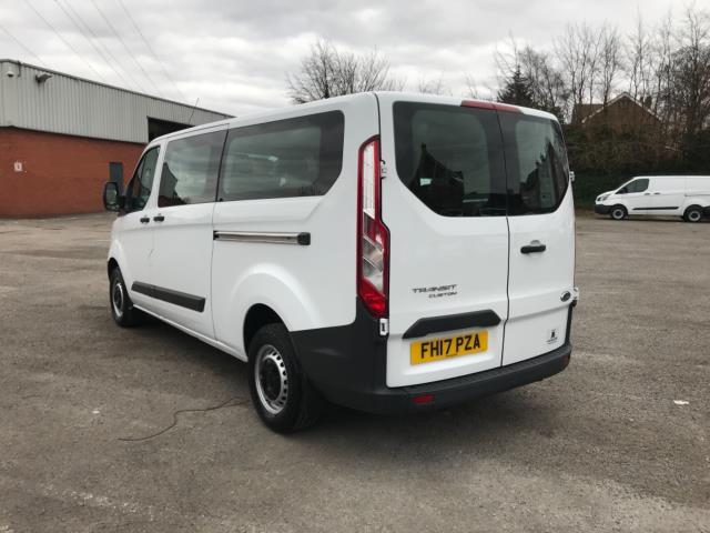 2017 Ford Transit Custom 2.0 Tdci 130Ps Low Roof Kombi Van 9 seater Euro 6 NO VAT (FH17PZA) Image 5