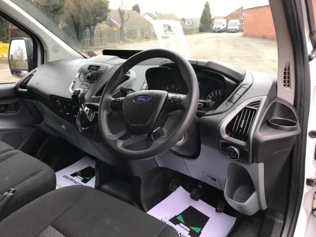 2017 Ford Transit Custom 2.0 Tdci 130Ps Low Roof Kombi Van 9 seater Euro 6 NO VAT (FH17PZA) Image 11