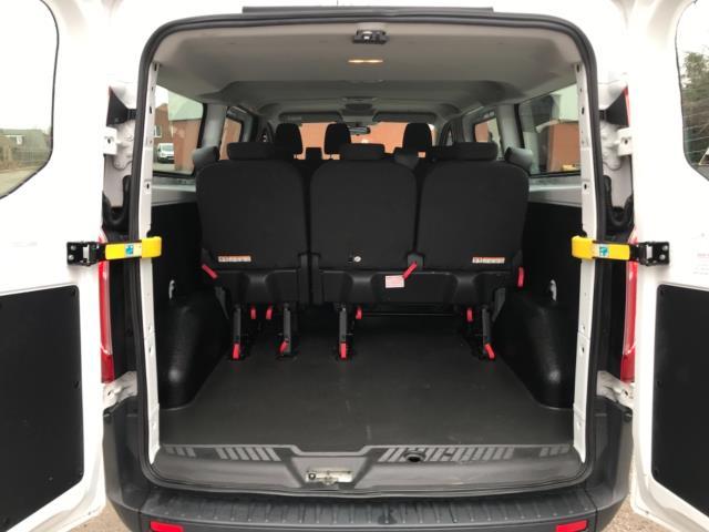 2017 Ford Transit Custom 2.0 Tdci 130Ps Low Roof Kombi Van 9 seater Euro 6 NO VAT (FH17PZA) Image 34
