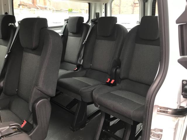 2017 Ford Transit Custom 2.0 Tdci 130Ps Low Roof Kombi Van 9 seater Euro 6 NO VAT (FH17PZA) Image 32