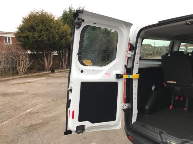 2017 Ford Transit Custom 2.0 Tdci 130Ps Low Roof Kombi Van 9 seater Euro 6 NO VAT (FH17PZA) Image 37