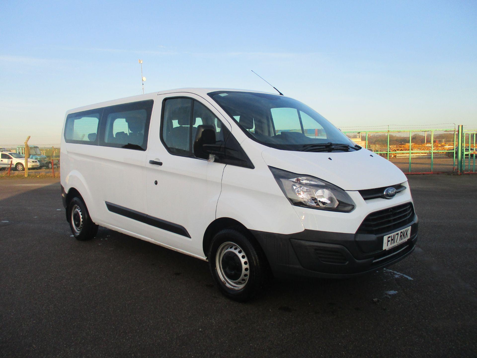 2017 Ford Transit Custom 310 L2 LOW ROOF KOMBI 130PS EURO 6. VAT INC (FH17RKK)