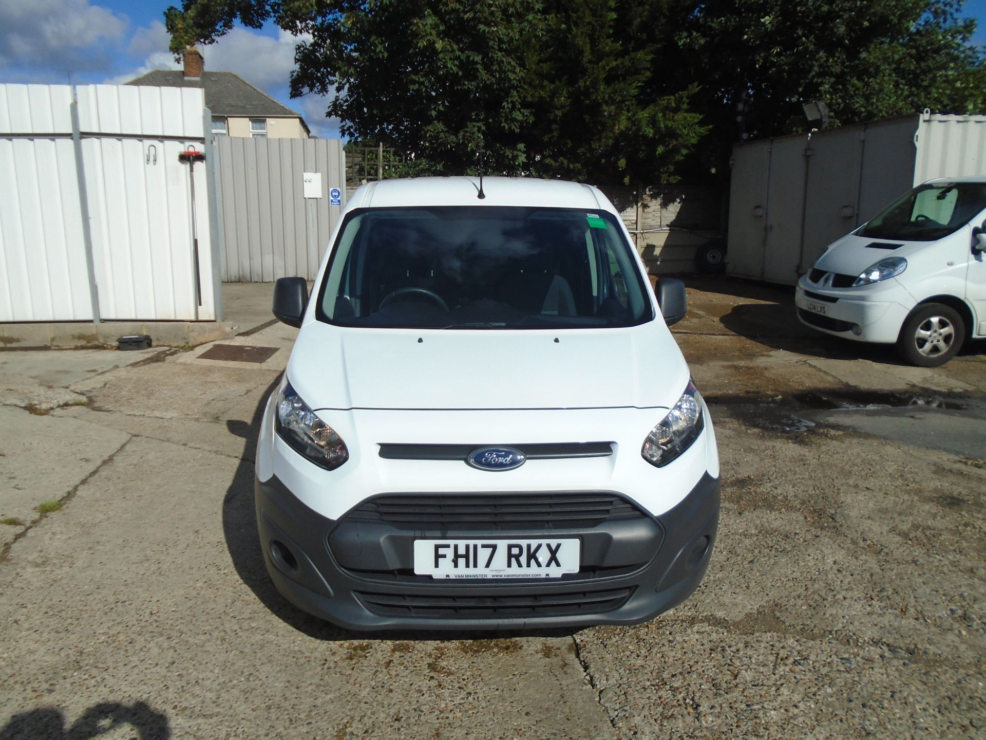2017 Ford Transit Connect 1.5 Tdci 75Ps Van (FH17RKX) Image 2