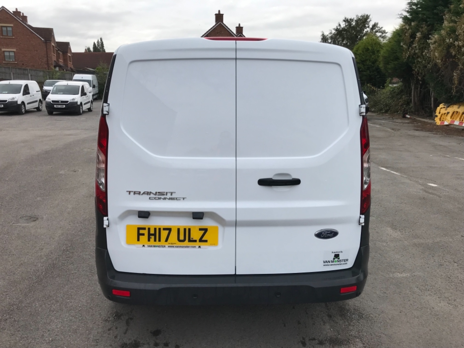 2017 Ford Transit Connect 1.5 Tdci 75Ps Van EURO 6 (FH17ULZ) Image 6