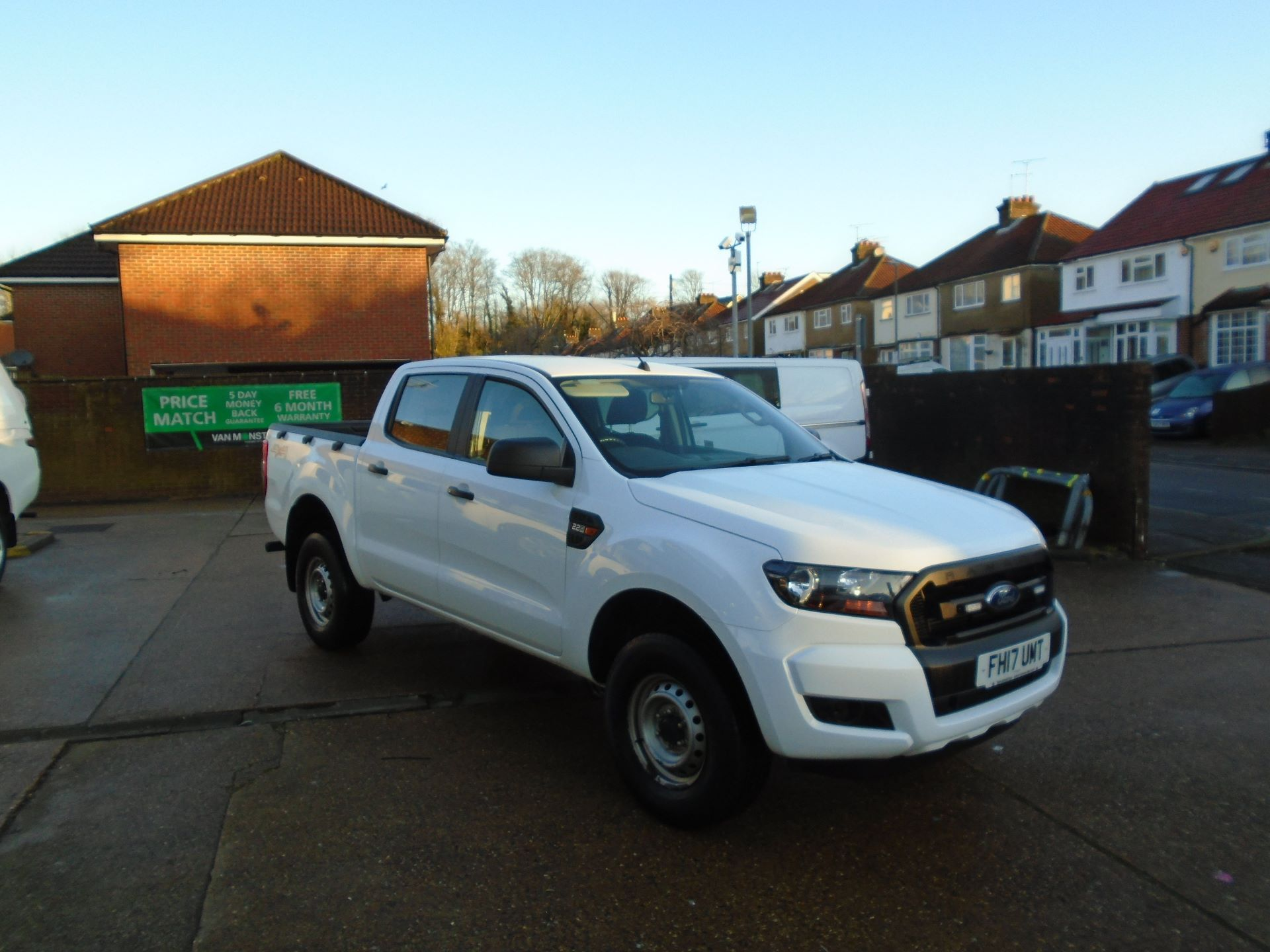 2017 Ford Ranger Pick Up Double Cab Xl 2.2 Tdci (FH17UMT)