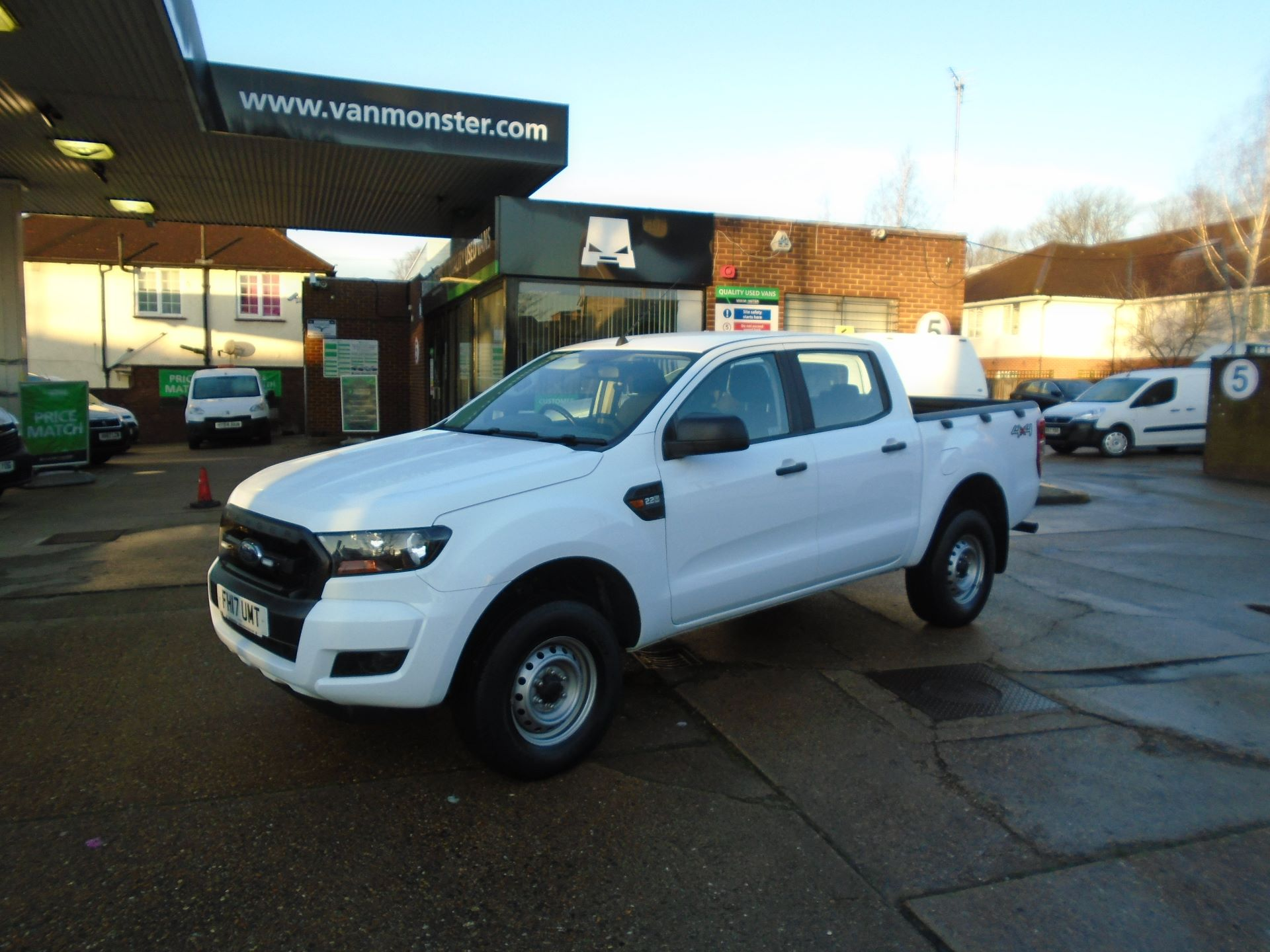 2017 Ford Ranger Pick Up Double Cab Xl 2.2 Tdci (FH17UMT) Image 8