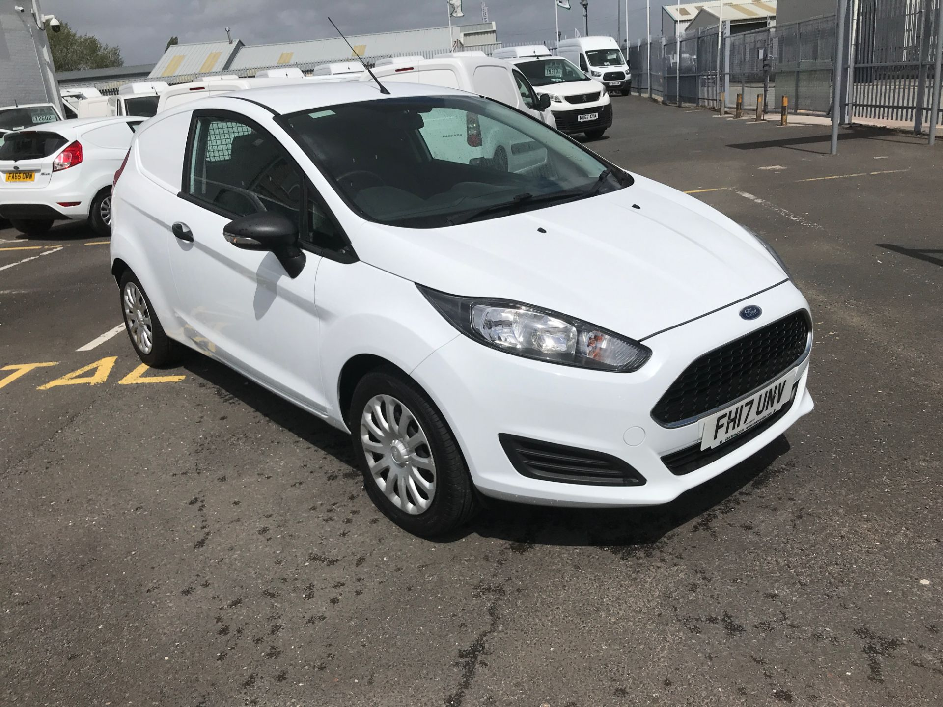 2017 Ford Fiesta 1.5TDCI 75PS EURO 6, AIR CON (FH17UNV)