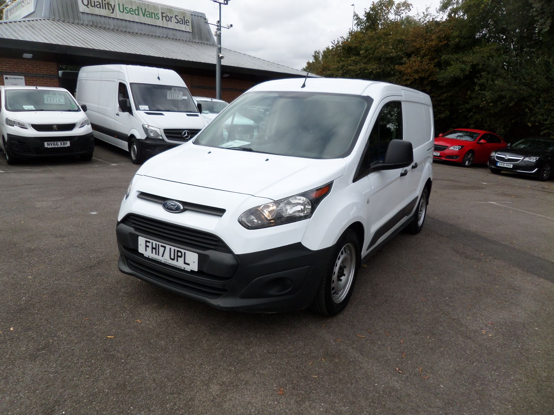 2017 Ford Transit Connect 1.5 Tdci 75Ps Van Euro 6 (FH17UPL) Image 9