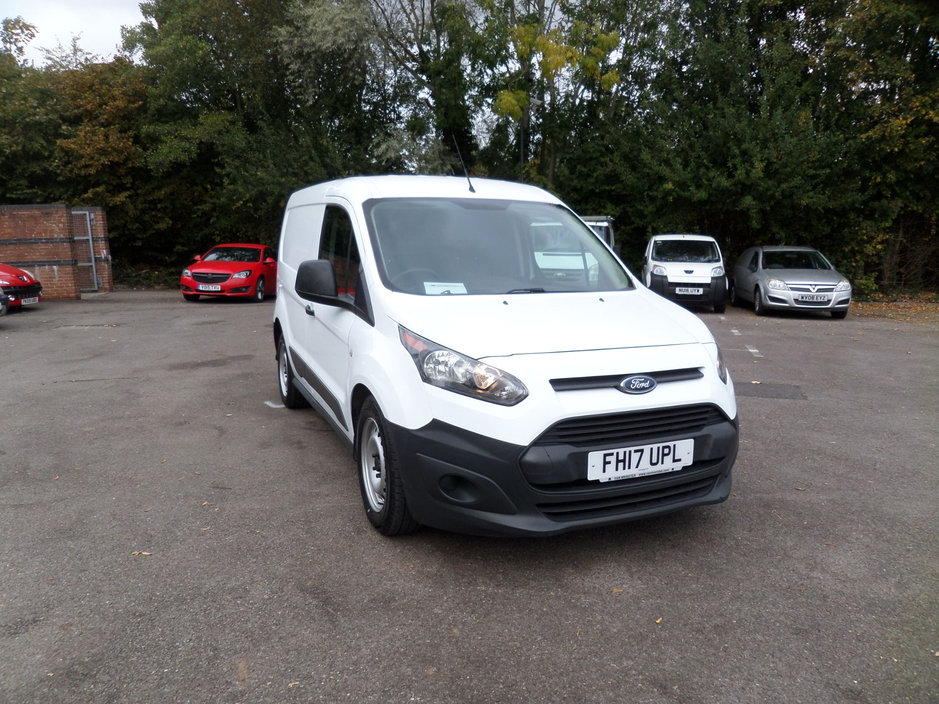 2017 Ford Transit Connect 1.5 Tdci 75Ps Van Euro 6 (FH17UPL)
