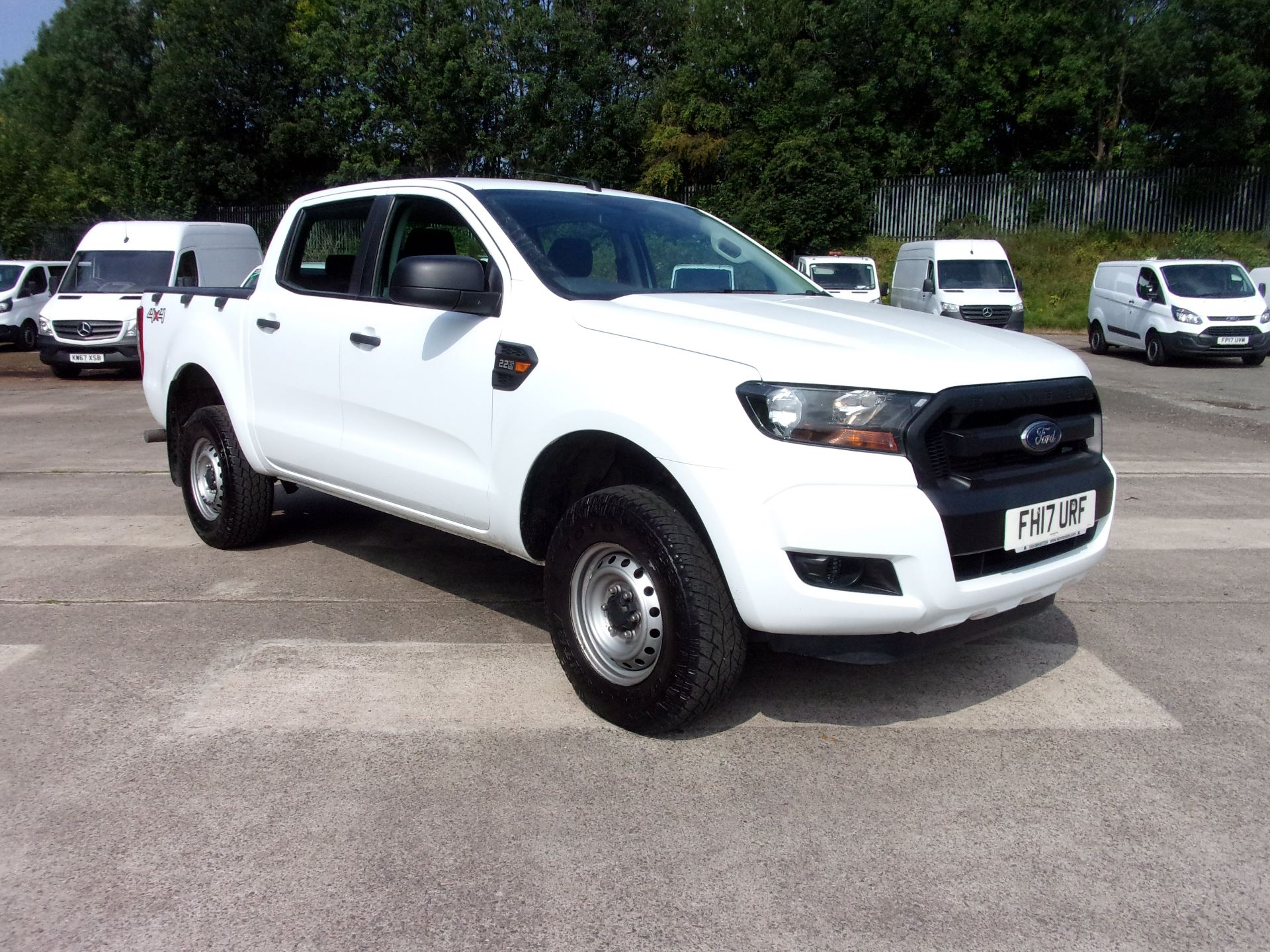 2017 Ford Ranger Pick Up Double Cab Xl 2.2 Tdci (FH17URF)