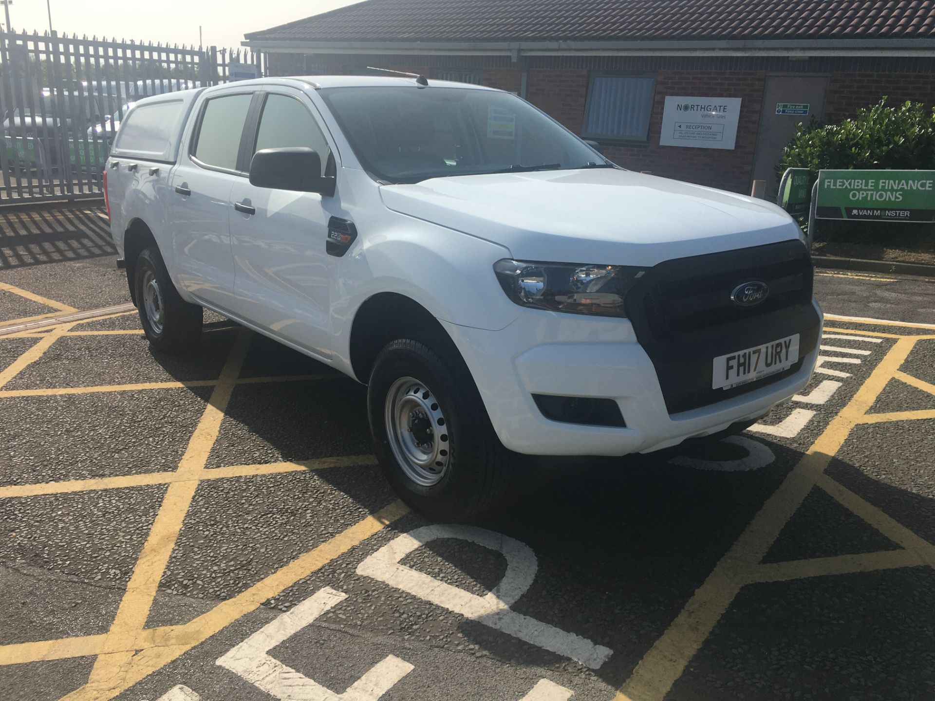 2017 Ford Ranger Pick Up Double Cab Xl 2.2 Tdci (FH17URY)