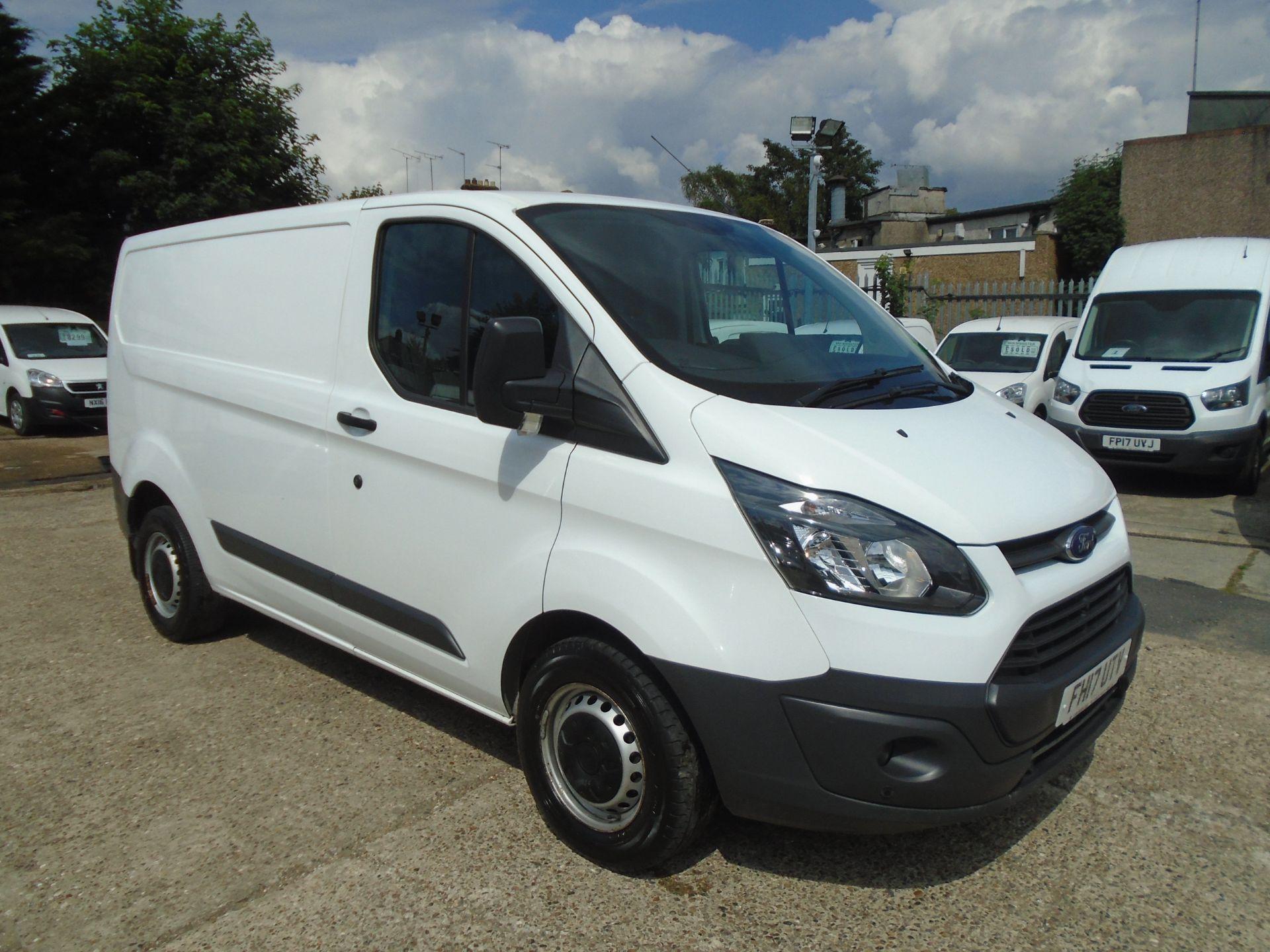 2017 Ford Transit Custom 2.0 Tdci 130Ps Low Roof Van *EURO 6* (FH17UTV)
