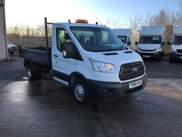 2016 Ford Transit T350 SINGLE CAB TIPPER 125PS EURO 5 (FH65AAX)