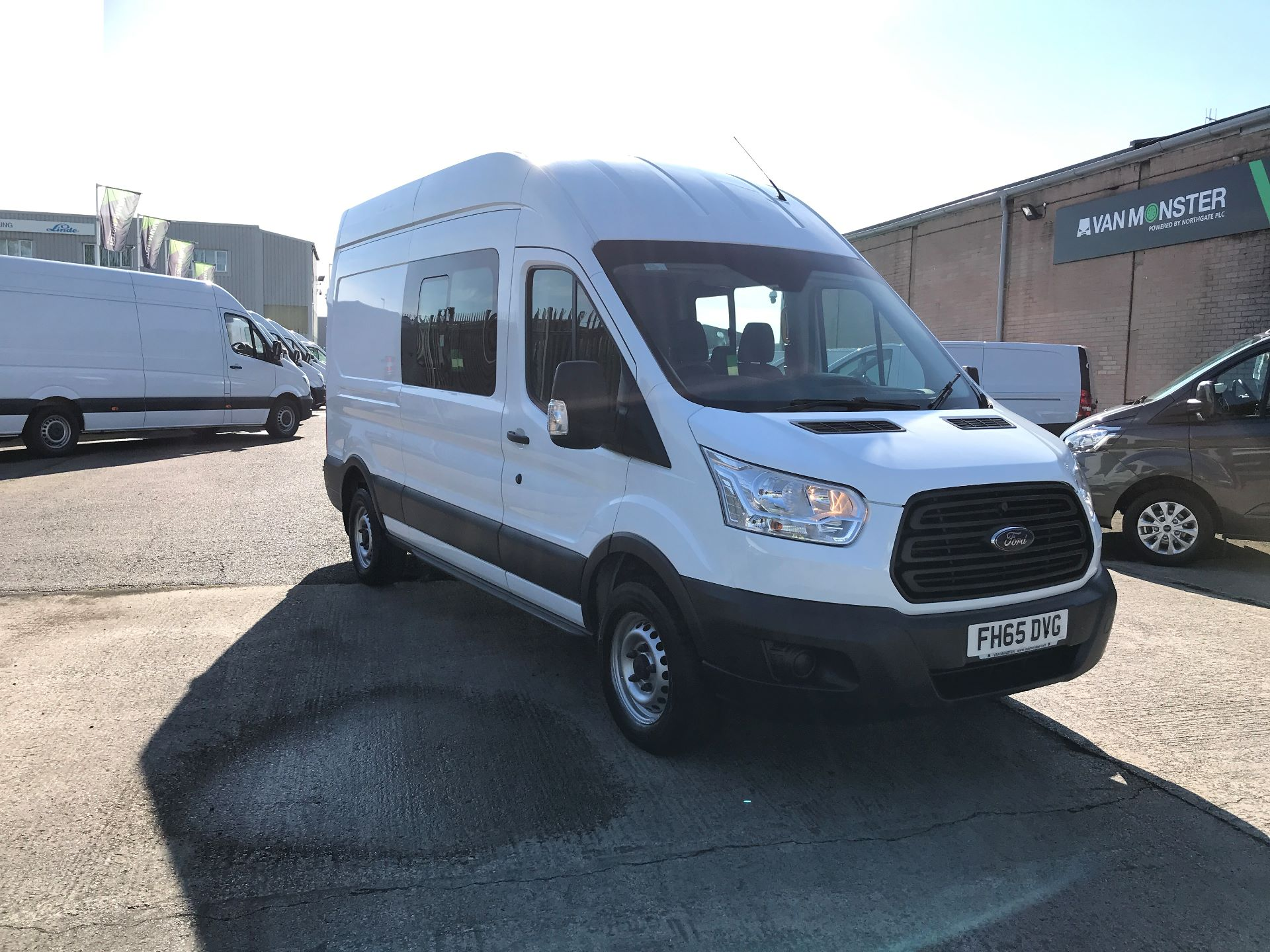 2015 Ford Transit T350 L3 H3 DOUBLE CAB 125PS EURO 5 (FH65DVG)