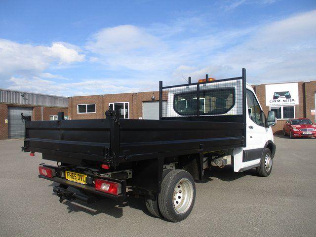 2015 Ford Transit 350 L2 SINGLE CAB TIPPER 125PS EURO 5 (FH65DVL) Image 8