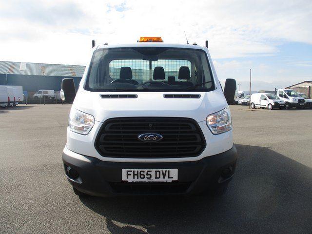 2015 Ford Transit 350 L2 SINGLE CAB TIPPER 125PS EURO 5 (FH65DVL) Image 14