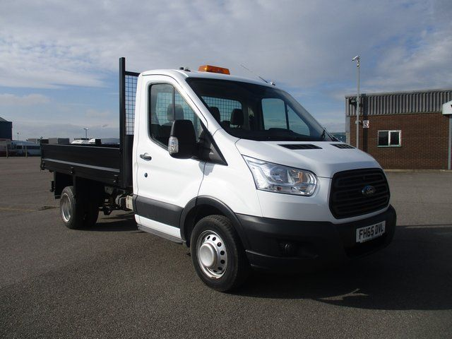 2015 Ford Transit 350 L2 SINGLE CAB TIPPER 125PS EURO 5 (FH65DVL)