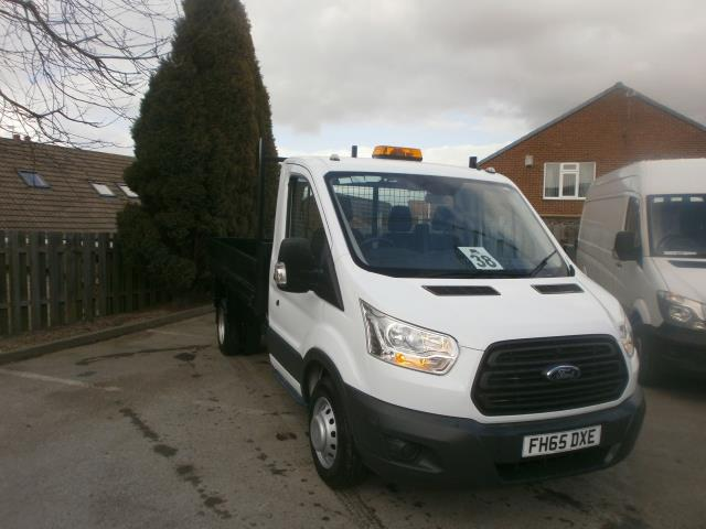 2016 Ford Transit T350 L2 2.2 Tdci 125Ps Double Cab Tipper (FH65DXE)