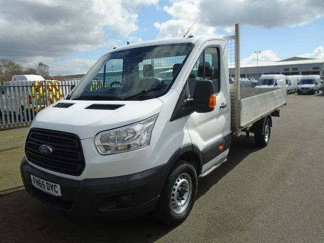 2016 Ford Transit 350 L4 DROP SIDE 125PS EURO 5 (FH65DYC) Image 2