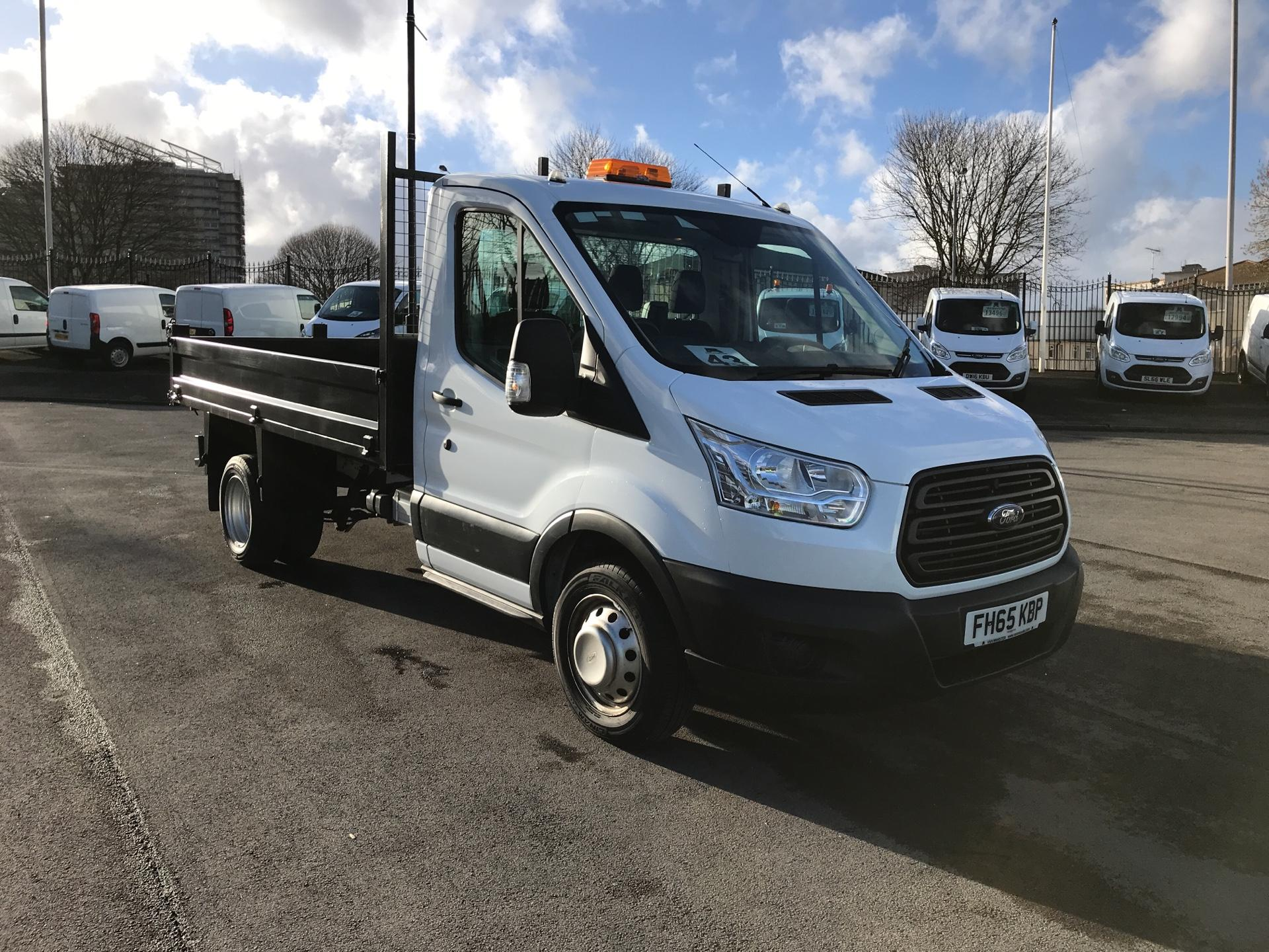 2016 Ford Transit 2.2 TDCI 125PS Single Cab Tipper Euro 5 (FH65KBP)